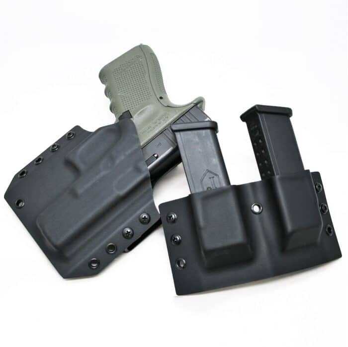 OWB Kydex Holster Double Mag Holder