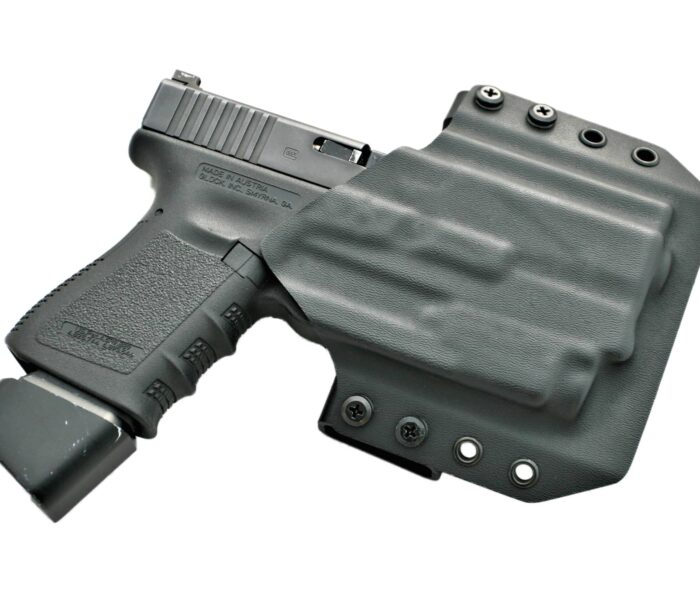 OWB Light Bearing Holster & Double Mag Pouch