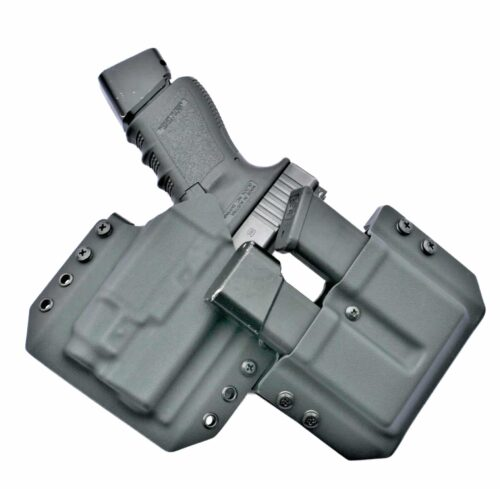OWB Light Bearing Holster & Double Mag Holder