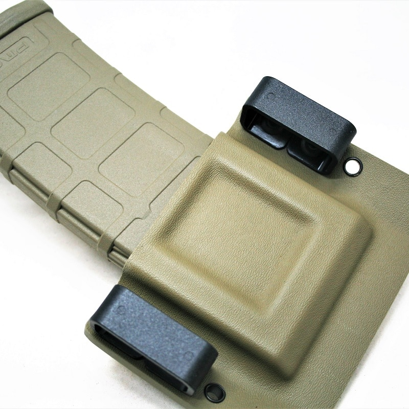 Universal Kydex Mag Carrier for AR15, 5.23/.223