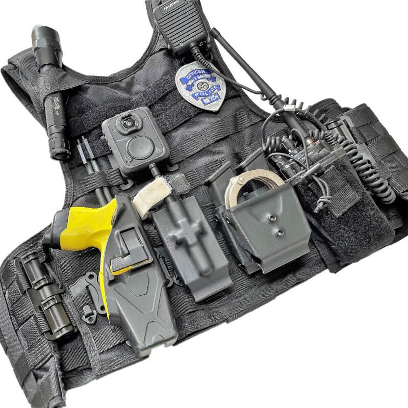 Black MCS police vest