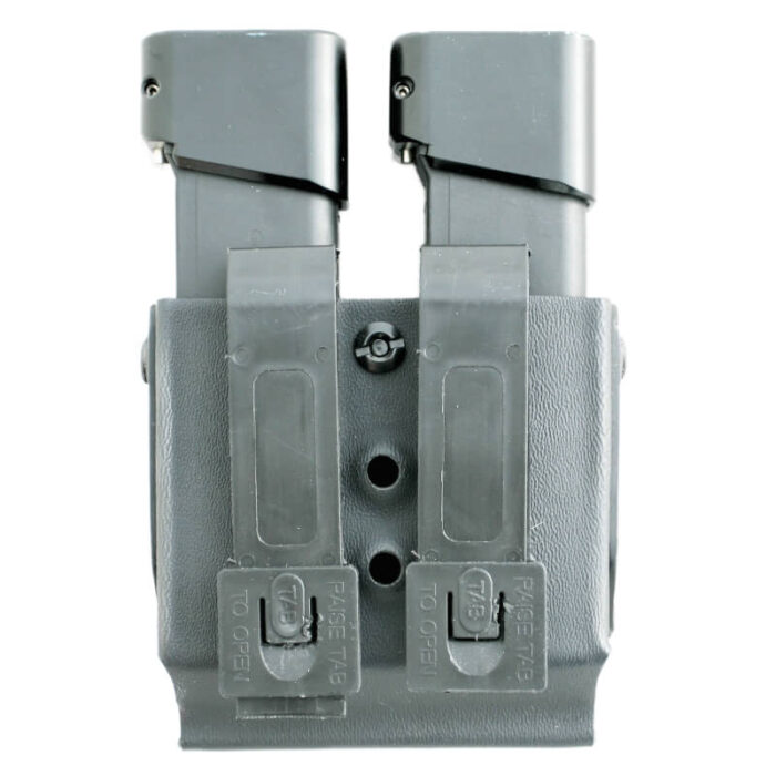 Double mag pouch, back