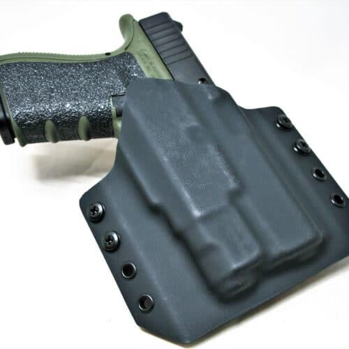 OWB Light Bearing Holster - Glock 19 with Inforce APL-C