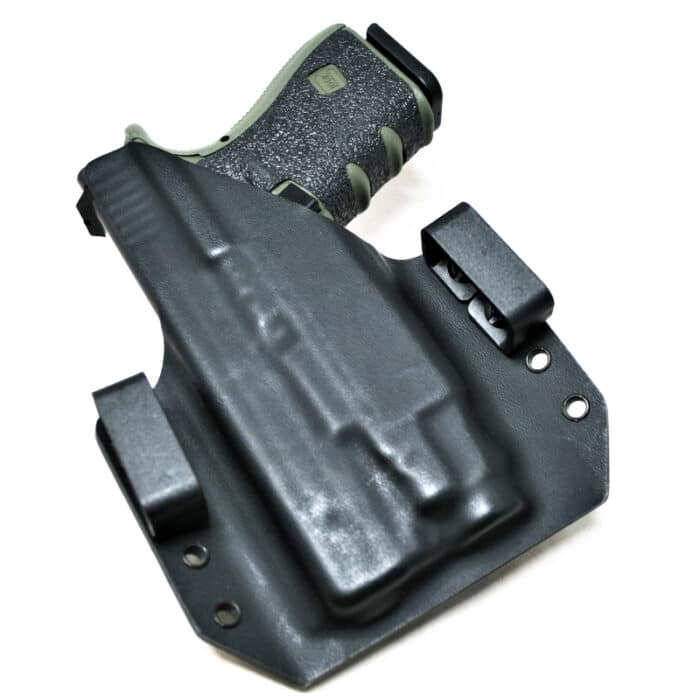 OWB Light Bearing Holster - Glock 19 with TLR-7 / TLR-7A