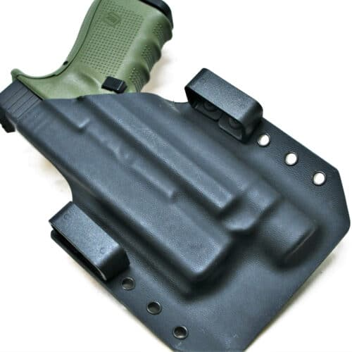 OWB light bearing holster for glock 19 with TLR-1